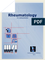 Rheumatology for UG