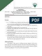 Experiment 2 FORMAL REPORT Draft