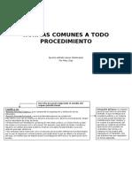 Normas Comunes a Todo Procedimiento Examen