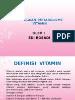 Gangguan Metabolisme Vitamin