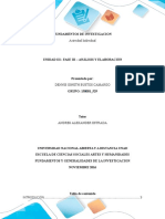 Análisis y Elaboración.fundamentos y Generalidades