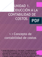 Introduccion a la Contabilidad de Costo