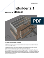 DesignBuilder 2.1 Users-Manual Ltr
