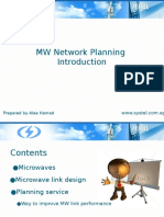 MW Network Planning Introduction_Alaa Hamed