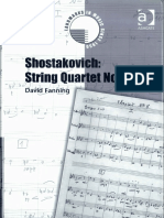 Fanning - Shostakovich - String Quartet No. 8