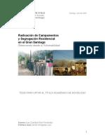 2008 Diaz - Radicación de Campamentos y Segregación Residencial en el Gran Santiago