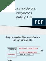 4.3 - Evaluacion de Proyectos VAN y TIR