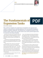 ASHRAE Journal - The Fundamentals of Expansion Tanks