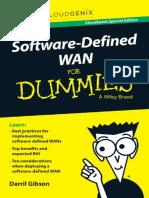 CloudGenix Software Defined WAN for Dummies