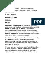 03 Northwest Orient Airlines vs CA 2