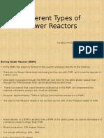 Different Power Reactors - Kandarp Mehta.pptx