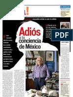 Adios a la Conciencia de Mexico