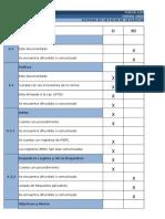 Check List a Empresas Contratistas