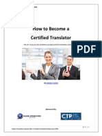 How to Become a Certified Translator 2016