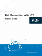 Cell Reselection With LTE Feature