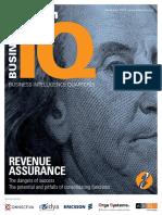 WDT TMForum Business Intelligence Quarterly - Revenue Assurance 2010
