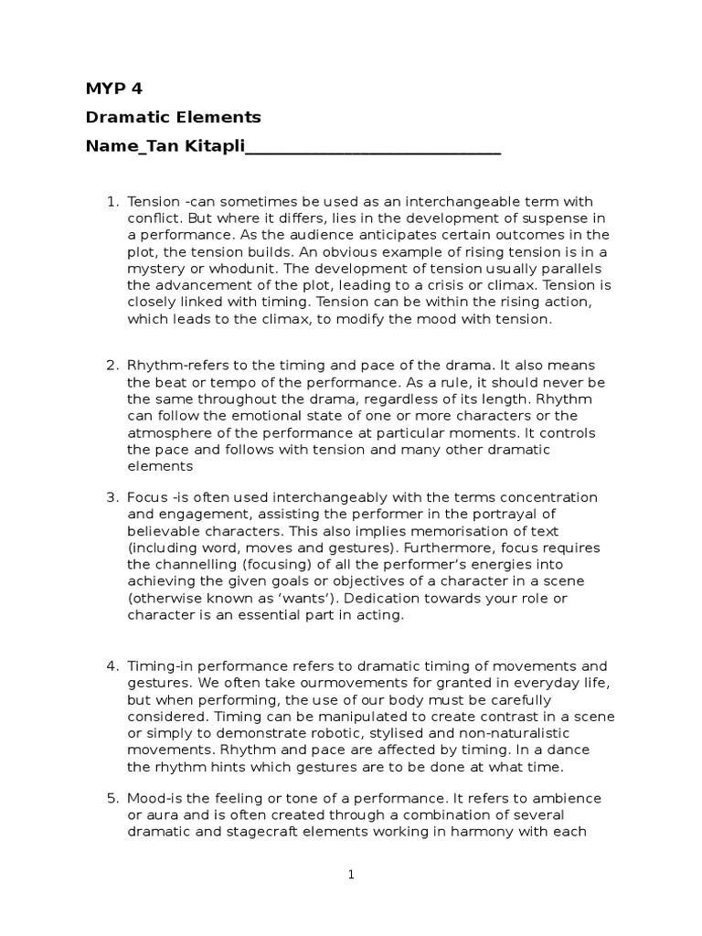 Worksheets Elements Of Drama Worksheet dramatic elements worksheet 2016 1 plot narrative nonverbal communication