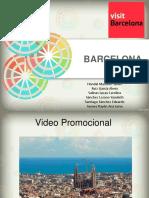 Presentación de Video Promocional Barcelona