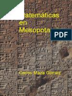 Matematicas en Mesopotamia