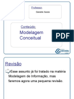 ARQ23 Modelo Conceitual de Dados