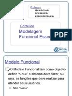 ARQ25 Modelagem Funcional Essencial 100 Slides
