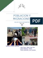 Monografia Población y Migraciones