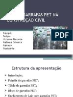 Uso de Garrafas Pet Na Construção Civil