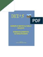Diversité et Identité Culturelle en Europe (DICE) 5 (ABSTRACTS)