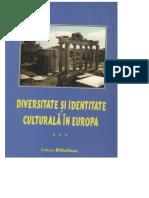 Diversité et Identité Culturelle en Europe (DICE) 3 (ABSTRACTS)