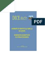 Diversité et Identité Culturelle en Europe (DICE) 08.2 (ABSTRACTS)