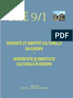 Diversité et Identité Culturelle en Europe (DICE) 09.1 (ABSTRACTS)