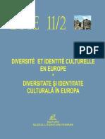 Diversité et Identité Culturelle en Europe (DICE) 11.2 (ABSTRACTS)