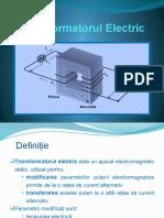 Transformatorul Electric - Proiect La Fizica