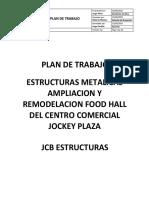 Plan de Trabajo para obras de edificaciones.