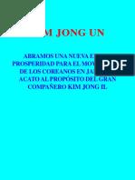 Kim Jong Un-Abramos Una Nueva Era de Prosperidad