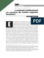 Elisabeth Balbachevsky - Carreira e contexto institucional no sistema de ensino superior brasileiro.pdf