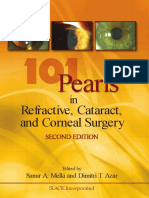 101 Pearls in Refractive , Cataract  and Corneal Surgery
