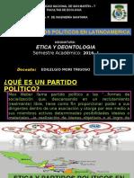 Etica y Partidos Politicos en Latinoamerica