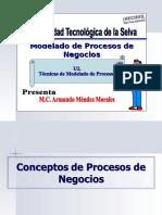U2 - Act 1 Conceptos Técnicas de Modelado de Procesos