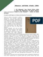 La Leadership Albanese nell'Unità d'Italia (1860-1871)