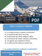 2016-17 Tema 2. El Relieve Terrestre