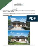 Plano de Casa Con Techo a Cuatro Aguas _ Planos de Casas Modernas