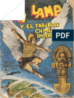 Ñan Lamp y El Fabuloso Chimú. Historieta