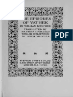 (1786) Beckford, W. Vathek