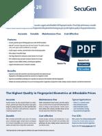 PRO20 datasheet