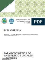 Farmacologia de Anestesicos Locales
