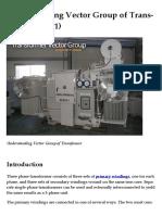 Understanding Vector Group of Transformer.pdf