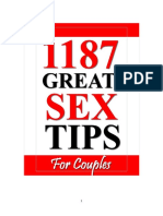 1001+ Great Sex Tips for Couples