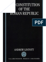 Andrew Lintott-The Constitution of the Roman Republic-Clarendon Press (1999)