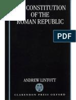 Andrew Lintott-The Constitution of the Roman Republic-Clarendon Press (1999)